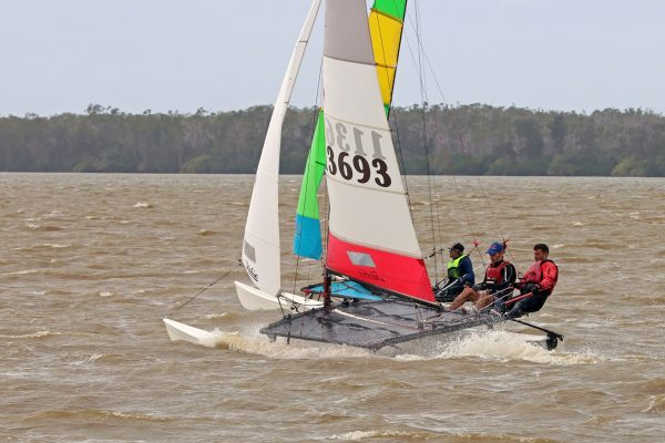 QLD Hobie 16 state titles 2021 Lake Cootharaba