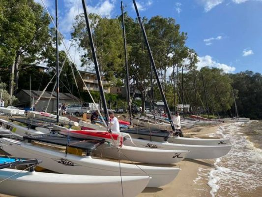 QLD Hobie state titles 2021 Lake Cootharaba